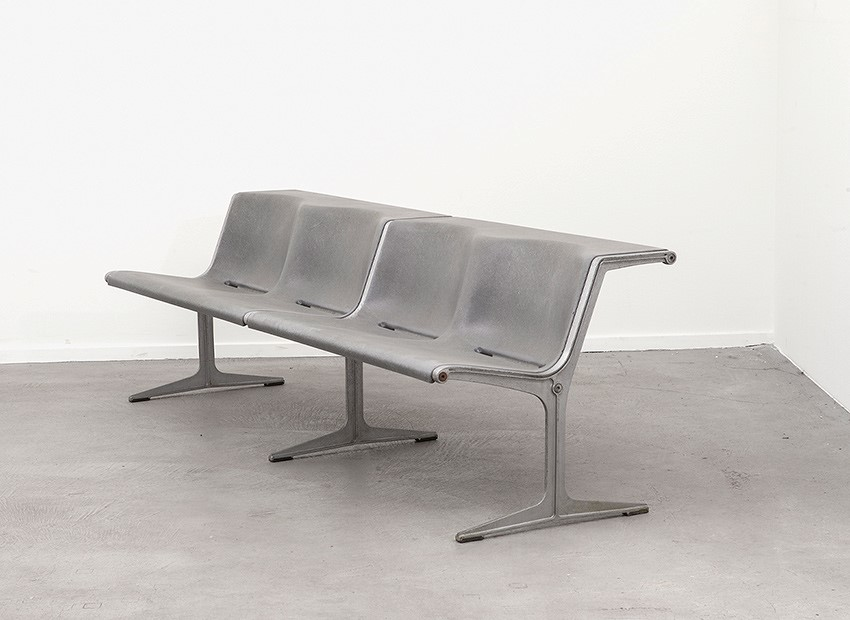 SOLD Friso Kramer Double Bench Wilkhahn Germany 1967