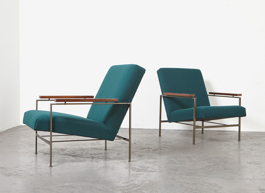 SOLD Rob Parry Pair of Easy Chairs Gelderland 1960s