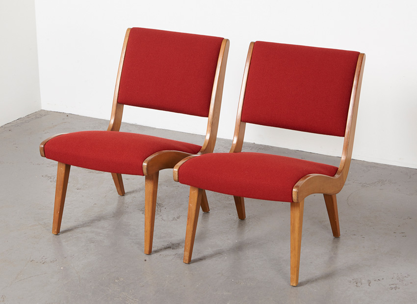 JensRisom Pair Vostra EasyChairs Knoll 2