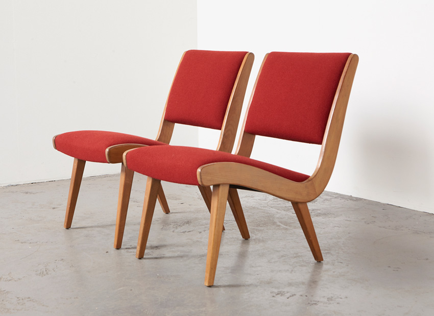 JensRisom Pair Vostra EasyChairs Knoll 3