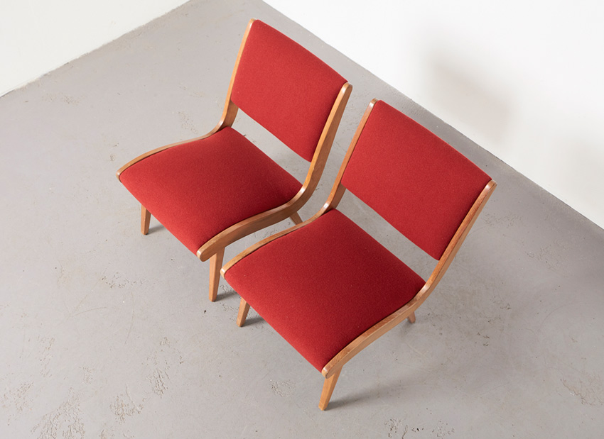 JensRisom Pair Vostra EasyChairs Knoll 4