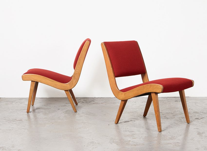 JensRisom Pair Vostra EasyChairs Knoll 8