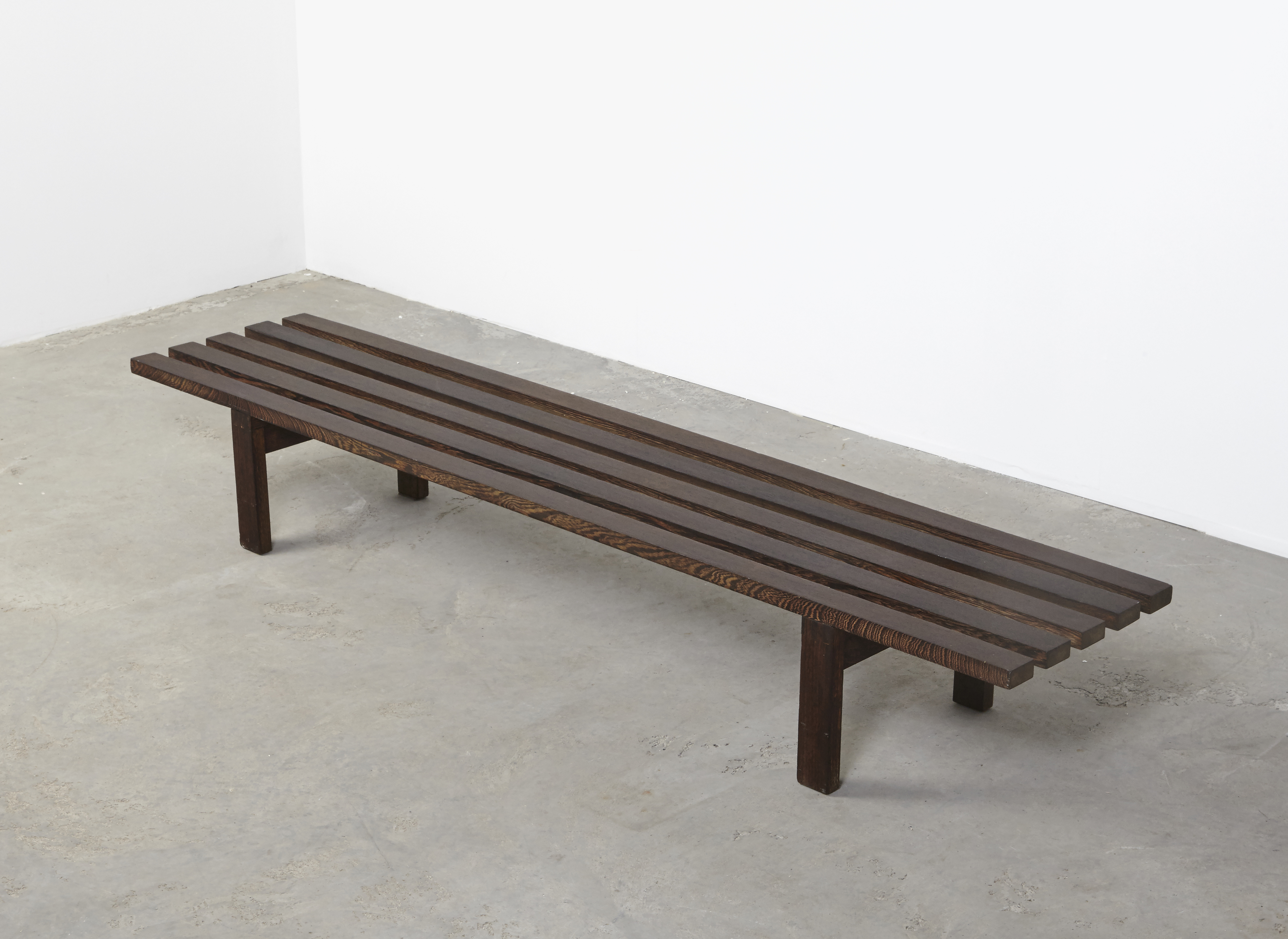 SOLD Martin Visser Slat Bench BZ81 Spectrum 1960
