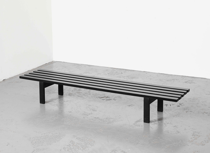 SOLD Martin Visser BZ81 Slat Bench 't Spectrum 1960