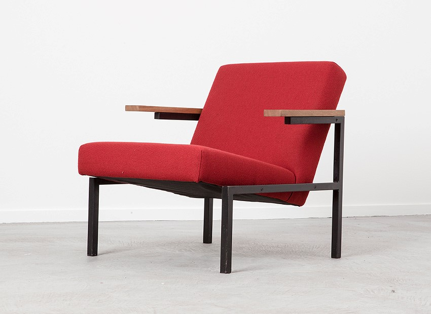 Martin Visser Easy Chair SZ31 Spectrum 1958 6