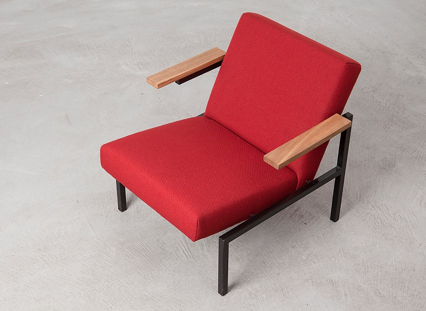 Martin Visser Easy Chair SZ31 Spectrum 1958 7
