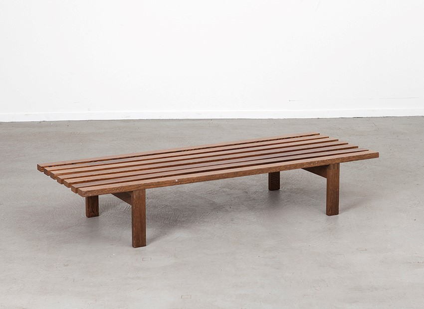SOLD Martin Visser BZ72 Slat Bench 't Spectrum 1960