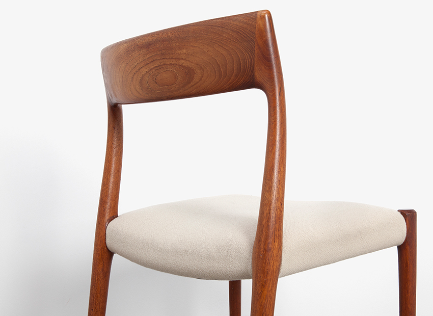 N.O.Moller 4x Chairs J.L.Mollers 7