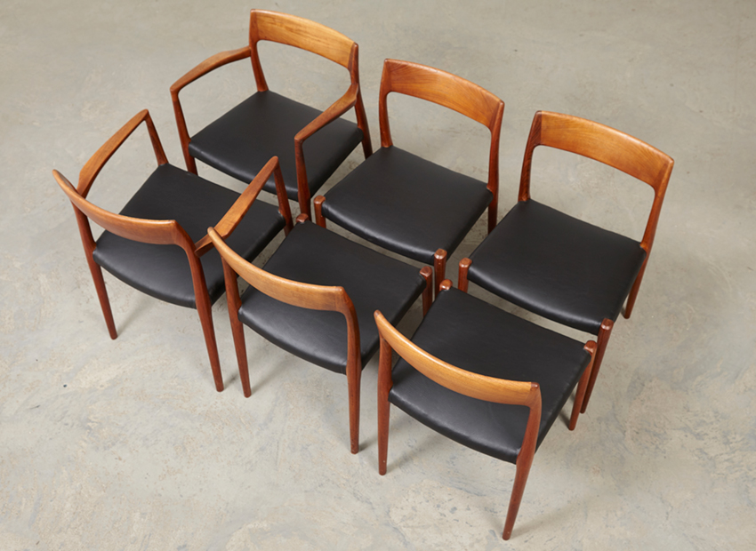 N.O.Moller SetOf6DiningChairs 21