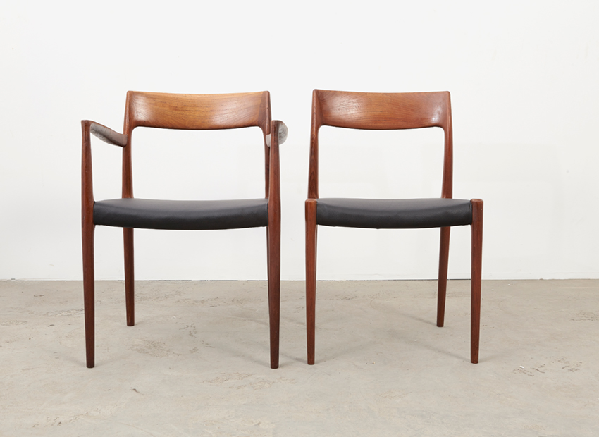 N.O.Moller SetOf6DiningChairs 8