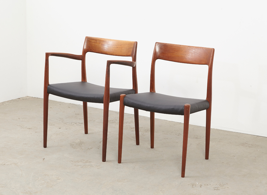 N.O.Moller SetOf6DiningChairs 9