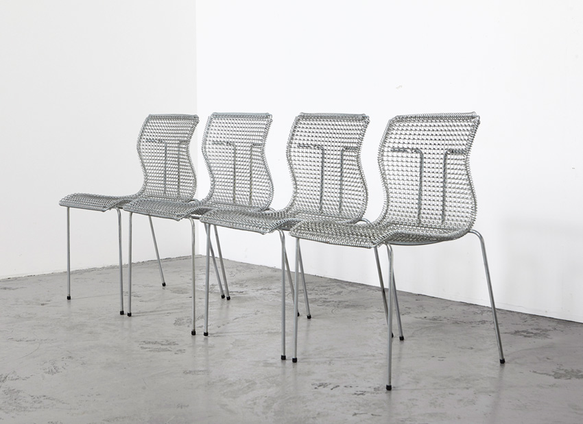 Niall O'Flynn Set of 4 Dining Chairs 't Spectrum 1997