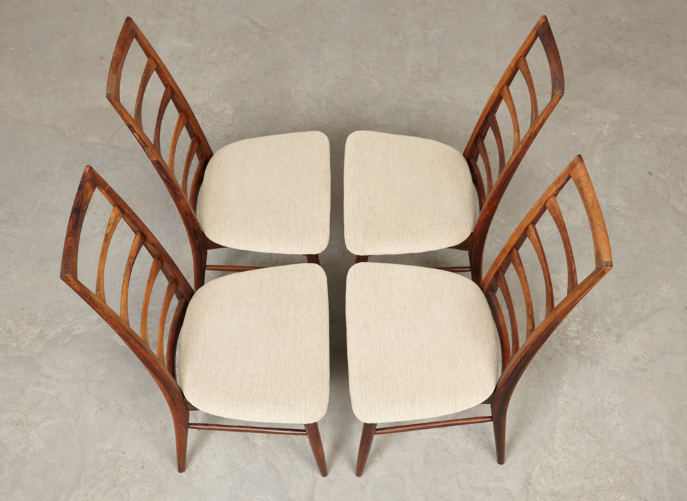 NielsKoefoed 4x DiningChairs Hornslet 10