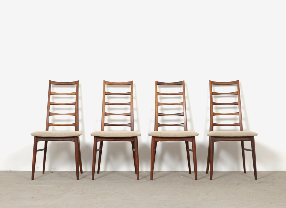 NielsKoefoed 4x DiningChairs Hornslet 3