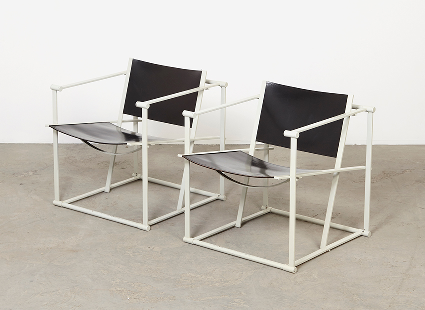 Radboud van Beekum A Pair of Easy Chairs FM61 Pastoe 1980