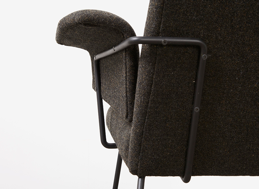 Rudolf Wolf Lounge Chair Elsrijk 1950s