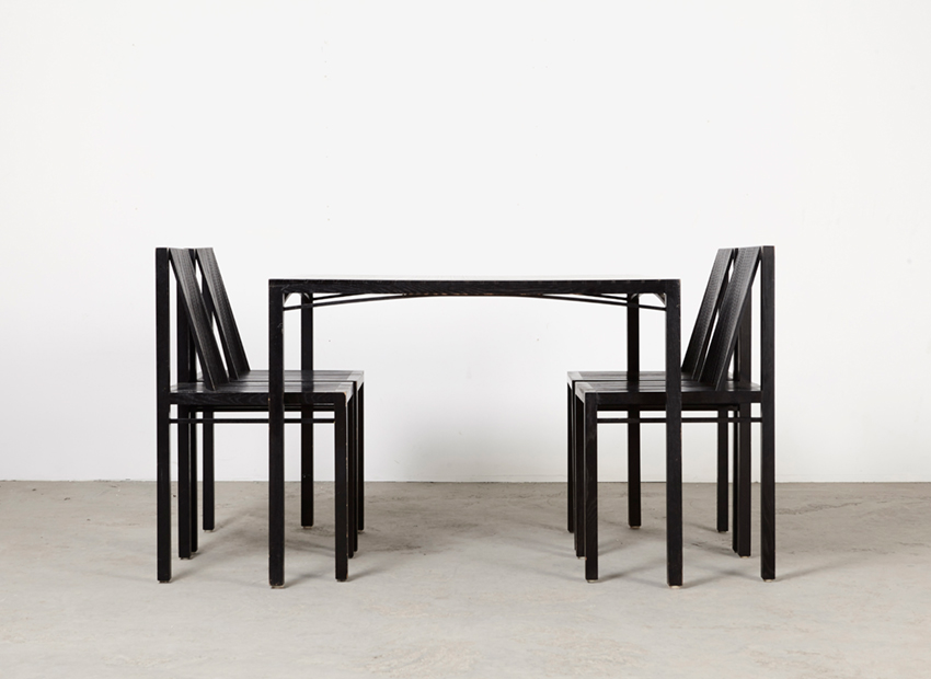 Ruud Jan Kokke Dining Set 1st Edition 1986