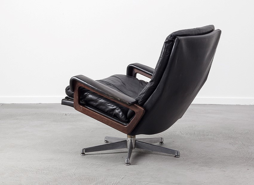 Strassle King Chair Andre Vandenbeuck Switzerland 60s 4