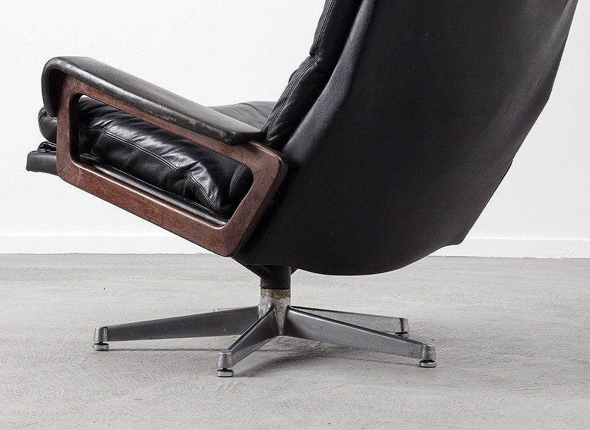 Strassle King Chair Andre Vandenbeuck Switzerland 60s 5