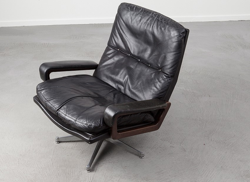Strassle King Chair Andre Vandenbeuck Switzerland 60s 6