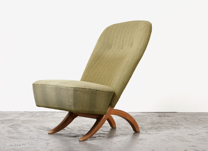 SOLD Theo Ruth Congo Chair Artifort 1952
