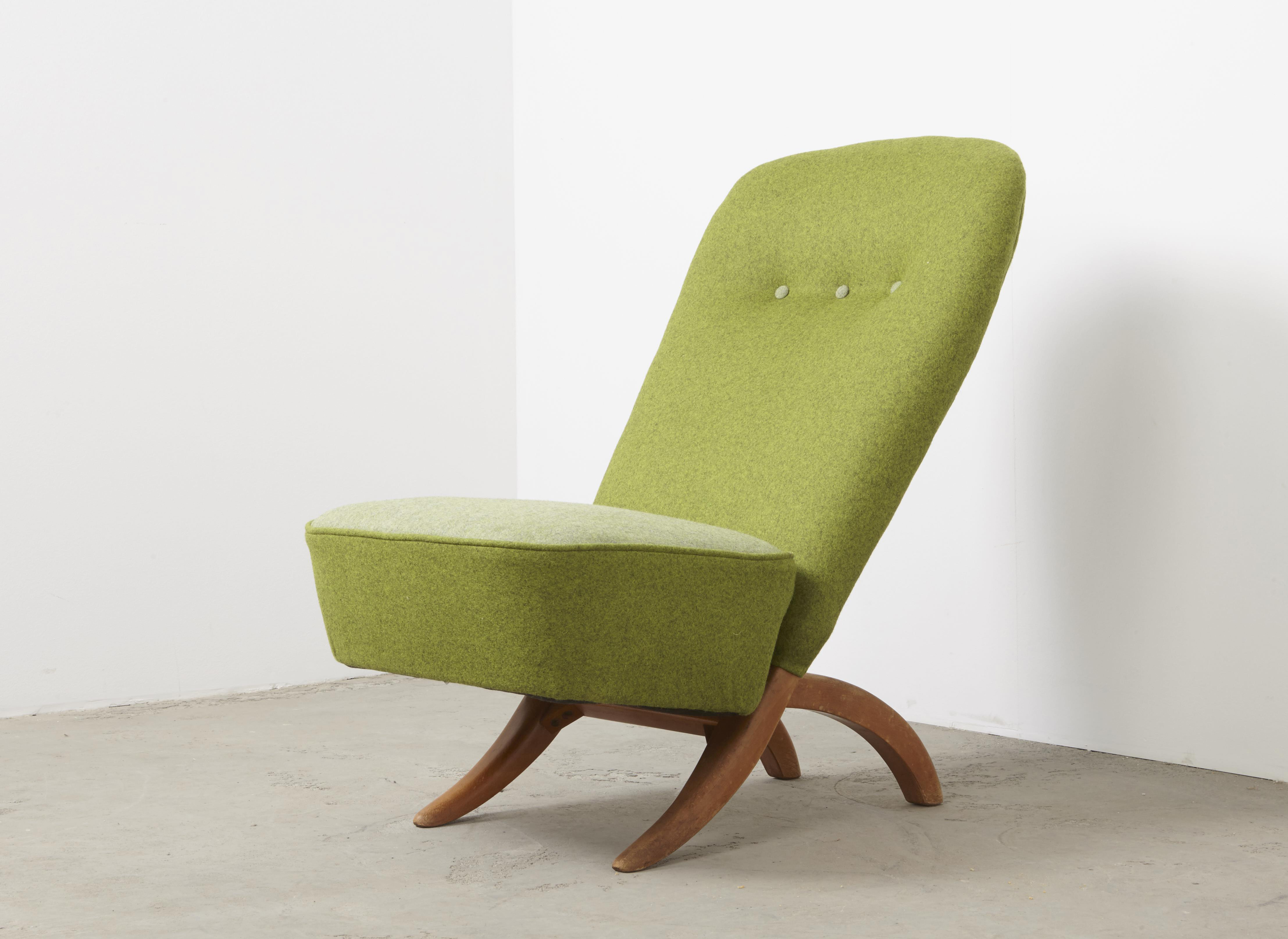 SOLD Theo Ruth Congo Lounge Chair Artifort 1952