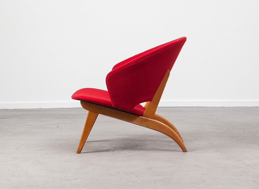 Theo Ruth Easy Chair Artifort 50s 2