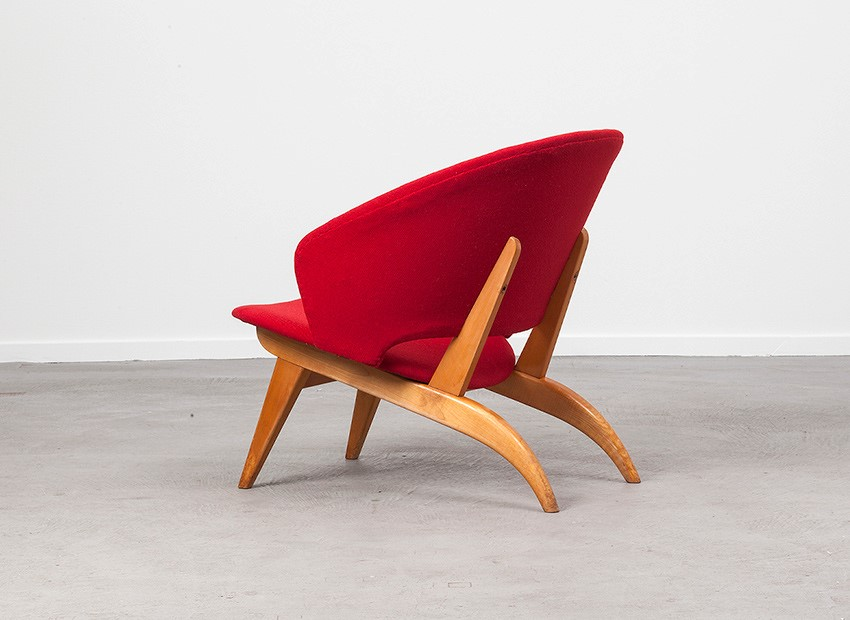 Theo Ruth Easy Chair Artifort 50s 3