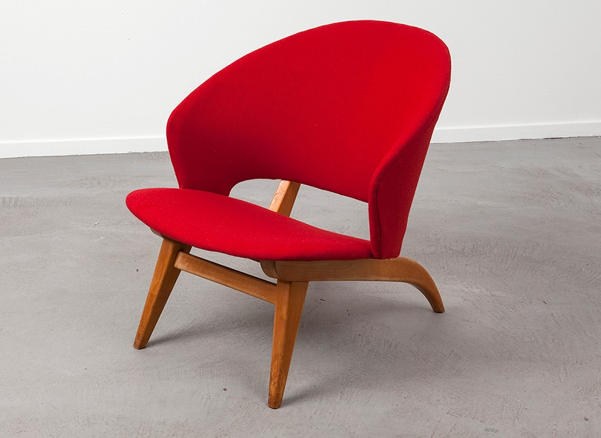 SOLD Theo Ruth Easy Chair Artifort 50s