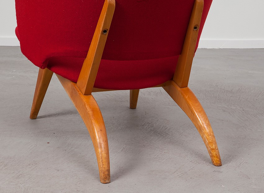 Theo Ruth Easy Chair Artifort 50s 6