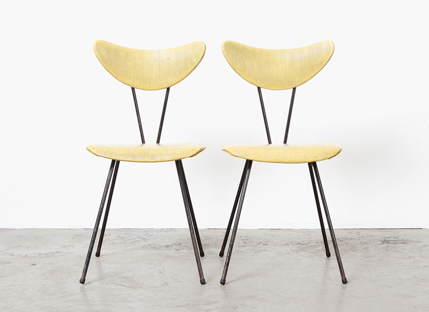 W.H. Gispen Pair of Dining Chairs 103 Kembo 1953