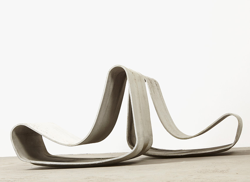 SOLD Willy Guhl A Pair of Loop Chairs Eterniet 1954/1997
