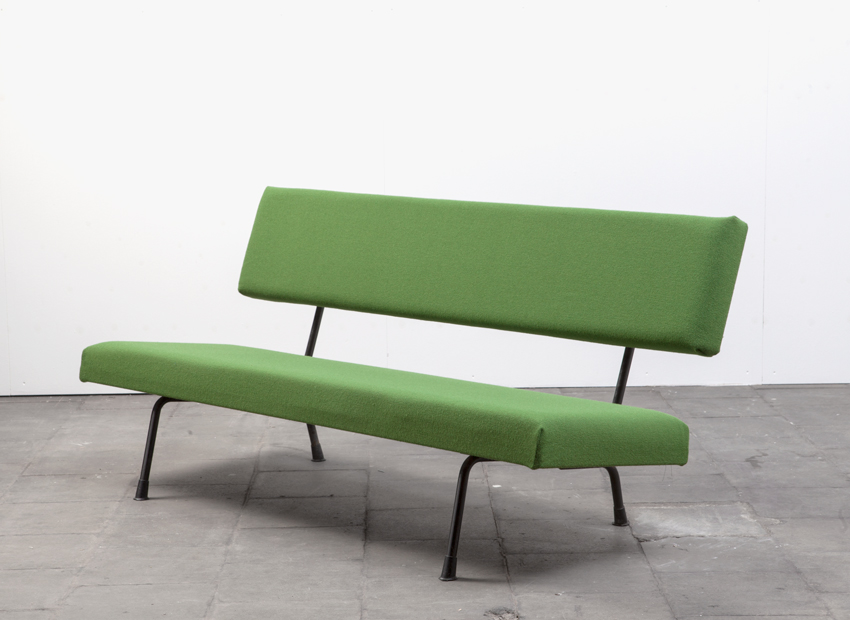 SOLD Wim Rietveld sofa Gispen 447 Dutch 1957