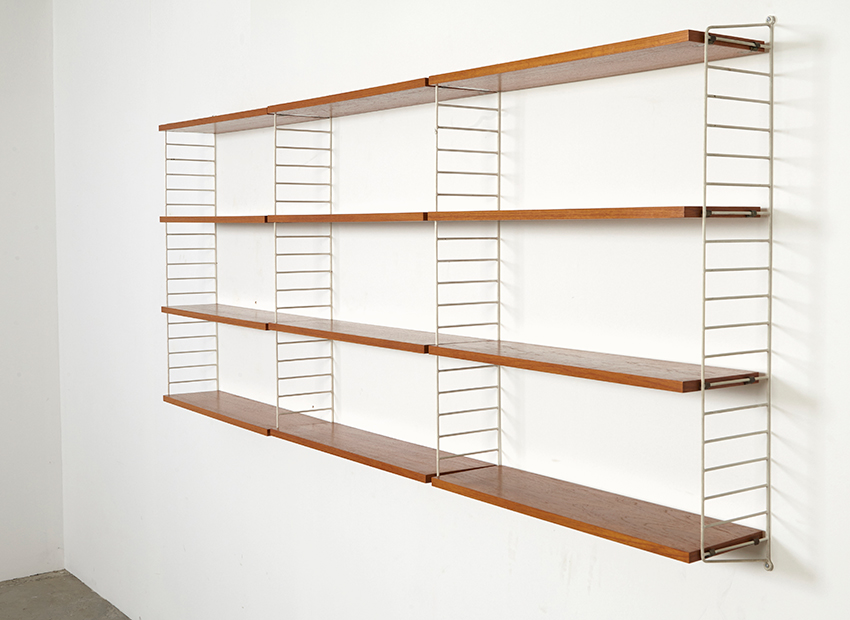 Nils Strinning Wall Unit 2 String Sweden 1949