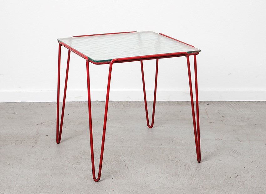 SOLD Arnold Bueno De Mesquita Side Table Goed Wonen 1955