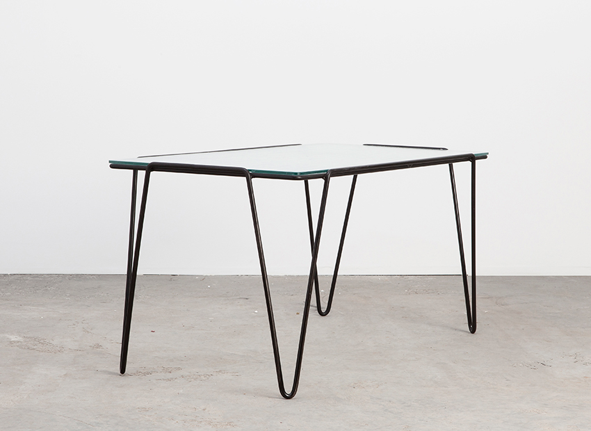 SOLD Arnold Bueno de Mesquita Coffee Table Spurs 1955