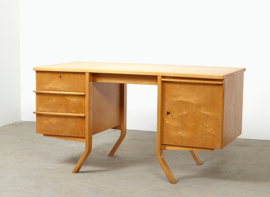 SOLD Cees Braakman Desk EB04 Birch Series Pastoe 50s