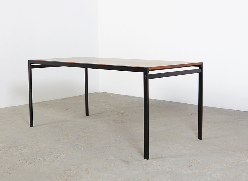 SOLD Cees Braakman Rosewood Dining Table Japanese Series Pastoe 60s