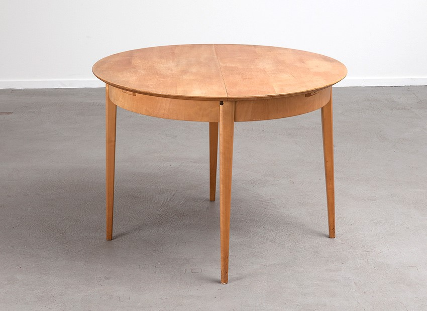 SOLD Cees Braakman Birch Extendable Table Pastoe 50s