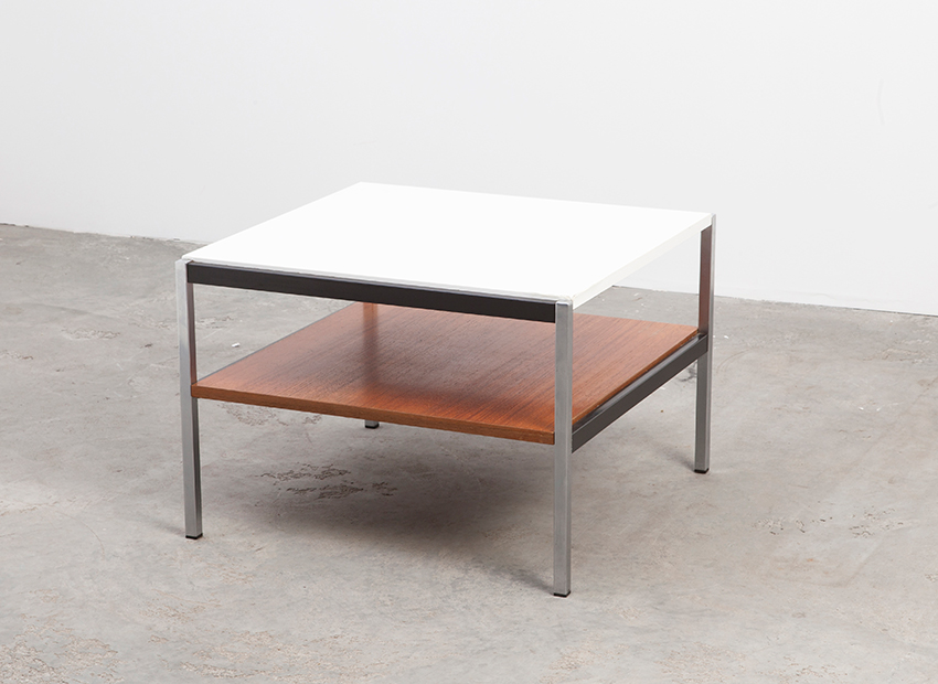 Coen de Vries Squared Coffee Table Gispen Dutch 60s