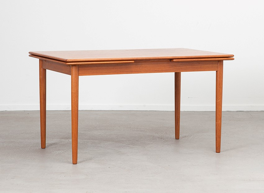 SOLD Farstrup Teak Extendable Table Denmark 60s