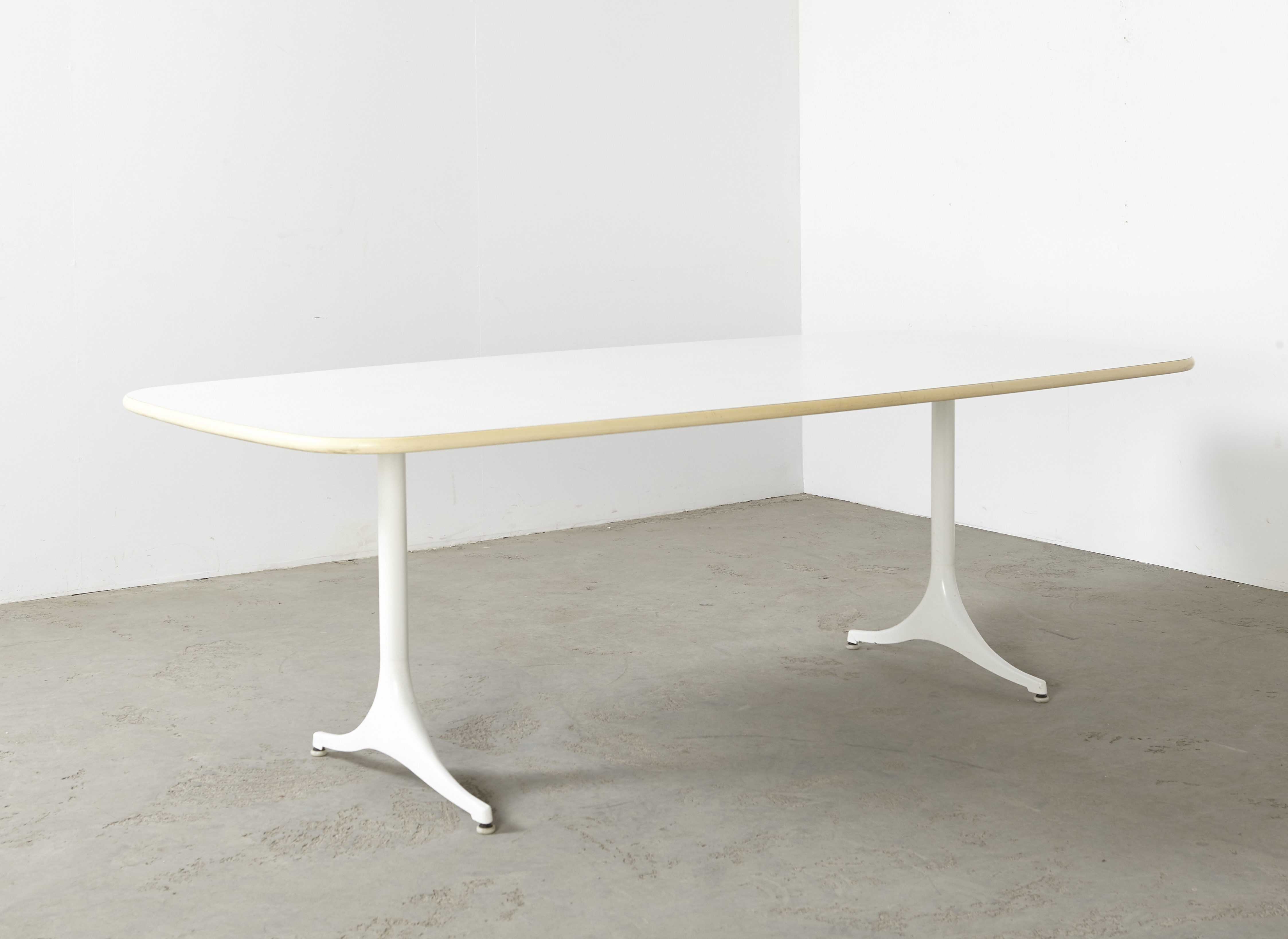 SOLD George Nelson Dining Table XL Herman Miller 1960s