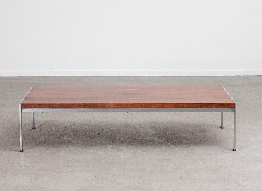 SOLD Kho Liang Ie Rosewood Coffee Table 020 Series Artifort 60s