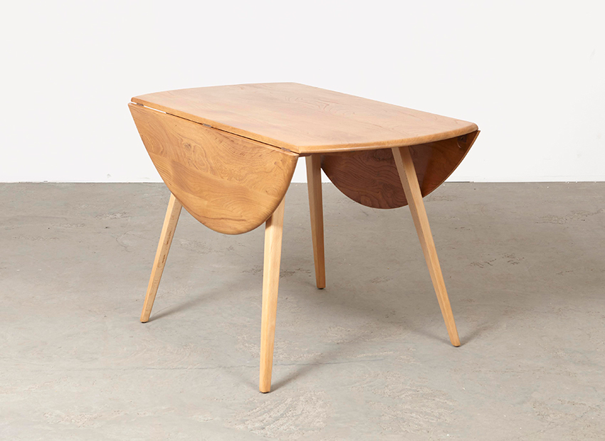 SOLD Luigi Ercolani Drop-leaf Dining Table Ercol 1950s