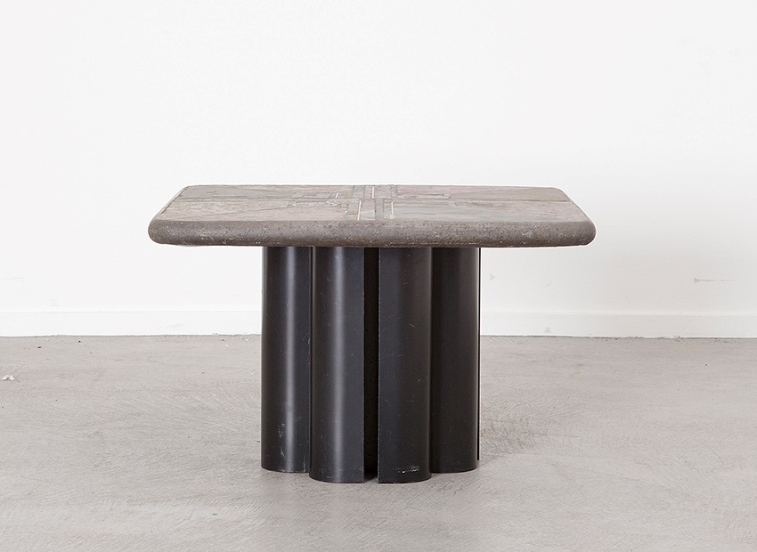 Marcus Kingma Brutalist Coffee Table Dutch 1988 2