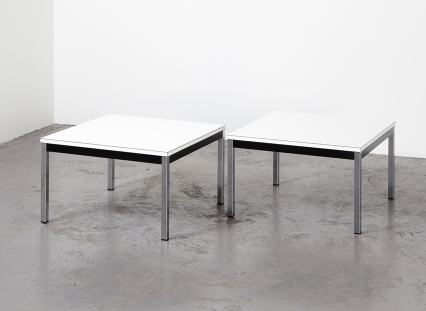 Martin Visser Pair of Coffee Tables 't Spectrum 1960s