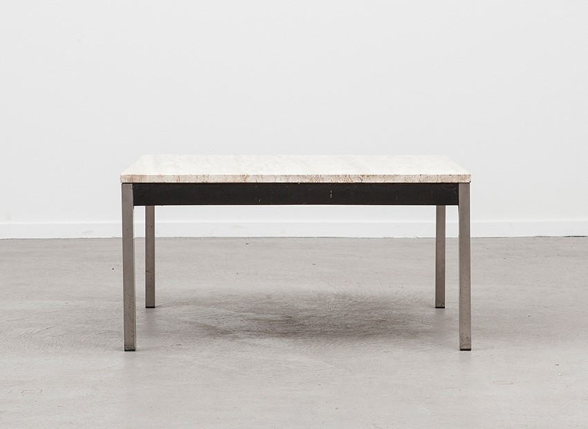 SOLD Martin Visser Travertin Coffee Table Spectrum 60s