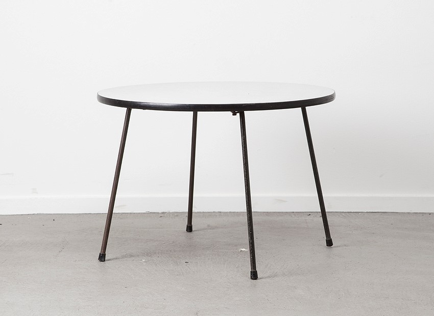 SOLD Rudolf Wolf Round Coffee Table Elsrijk 50s