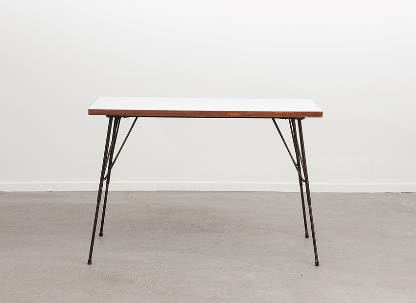 Rudolf Wolf Small Dining Table Elsrijk 50s 2