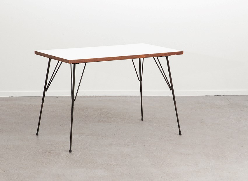 SOLD Rudolf Wolf Small Dining Table Elsrijk 50s